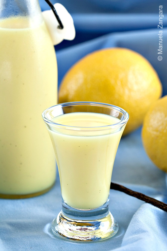 Home-made Crema di Limoncello