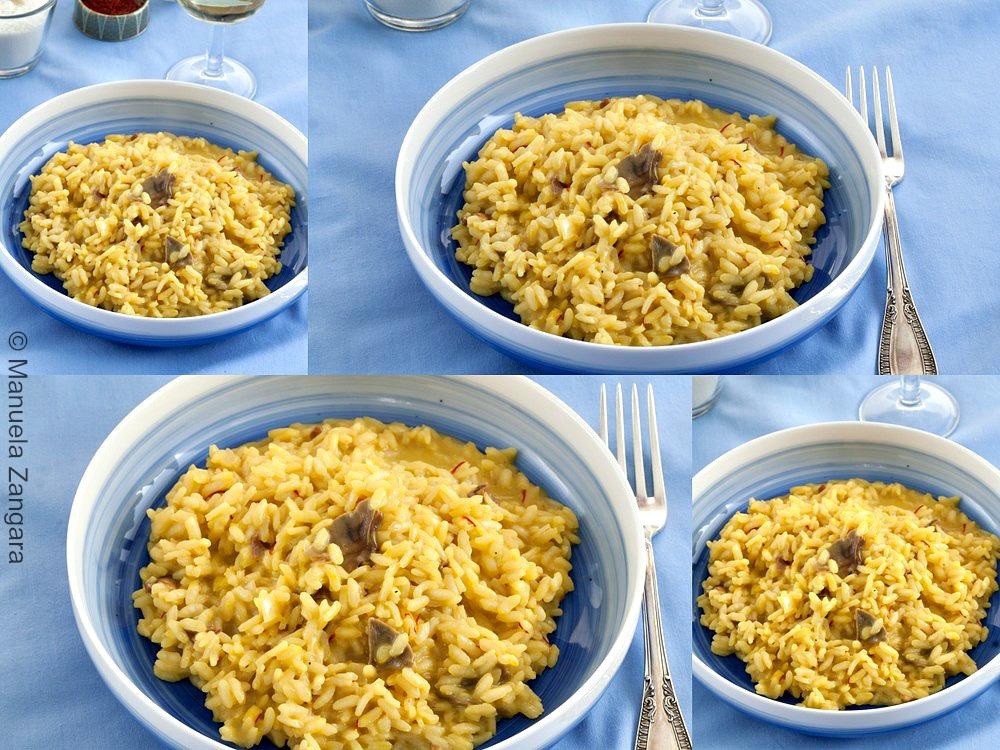 Dried Porcini and Saffron Risotto