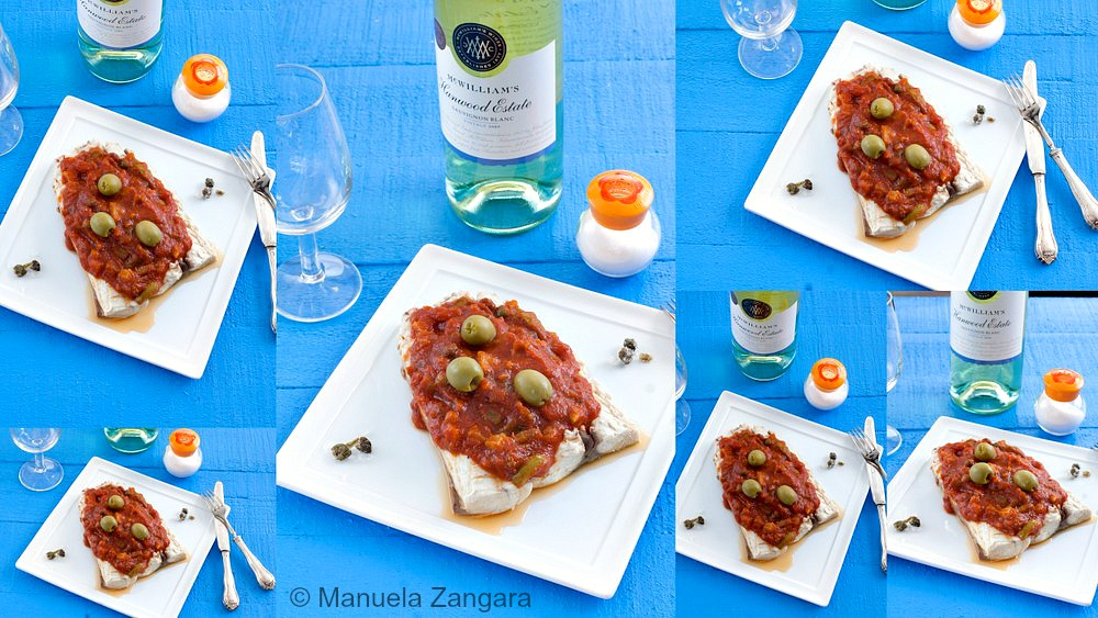 Mahi Mahi with Caponata Sauce