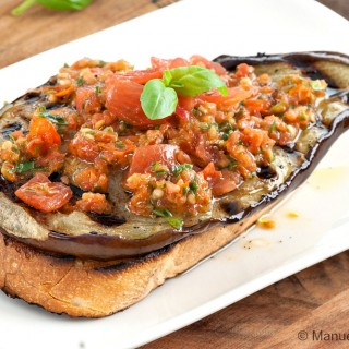 Bruschetta with Eggplant and Matarocco
