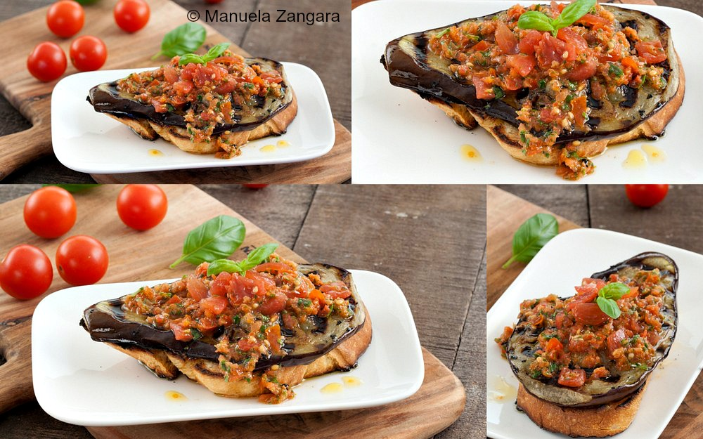 Bruschetta with Eggplant and Matarocco