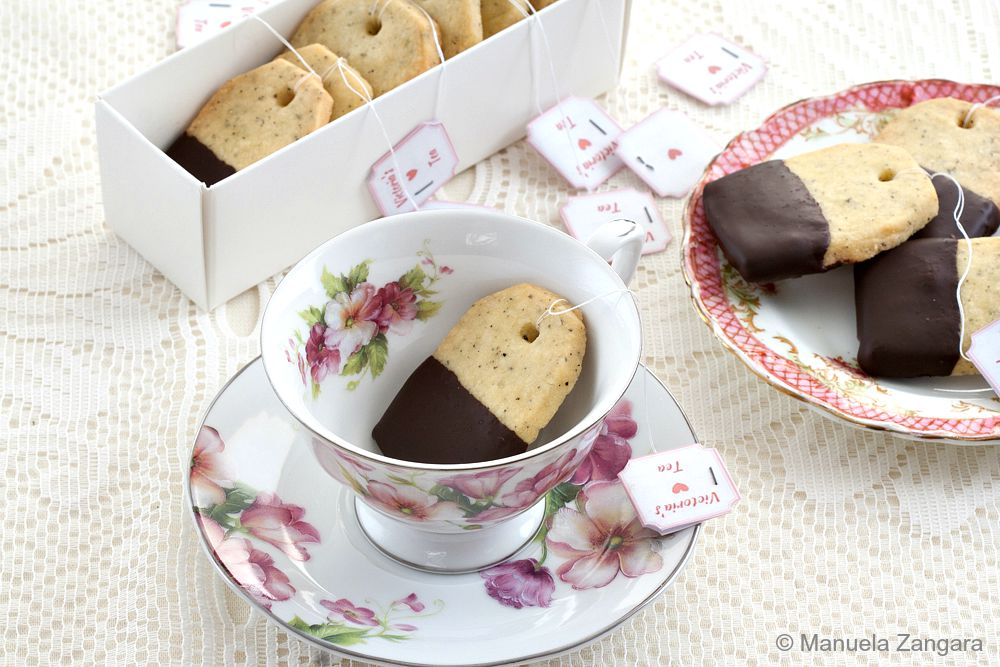 Earl Grey Shortbread Tea Bags
