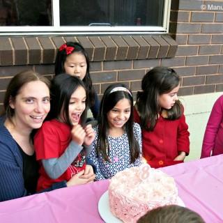 Victoria's 8th Birthday
