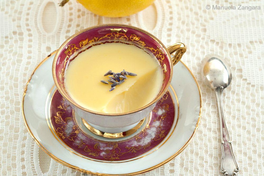 Lemon and Lavender Possets