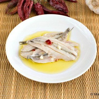 Marinated Fresh Anchovies