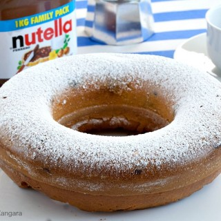 Yogurt and Nutella Ciambellone