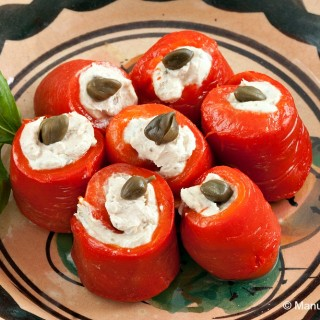 Bell Pepper Involtini