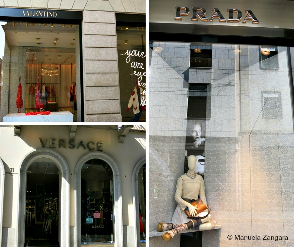 Via Montenapoleone Shops 2