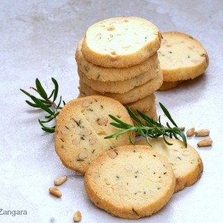 Rosemary and Pine Nut Sables