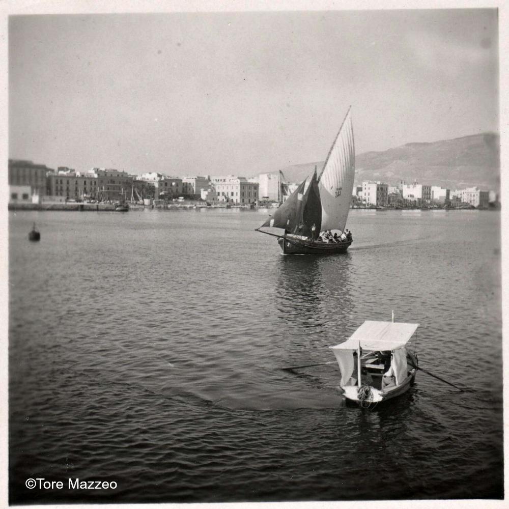 5 Trapani barche per il Ronciglio 1953