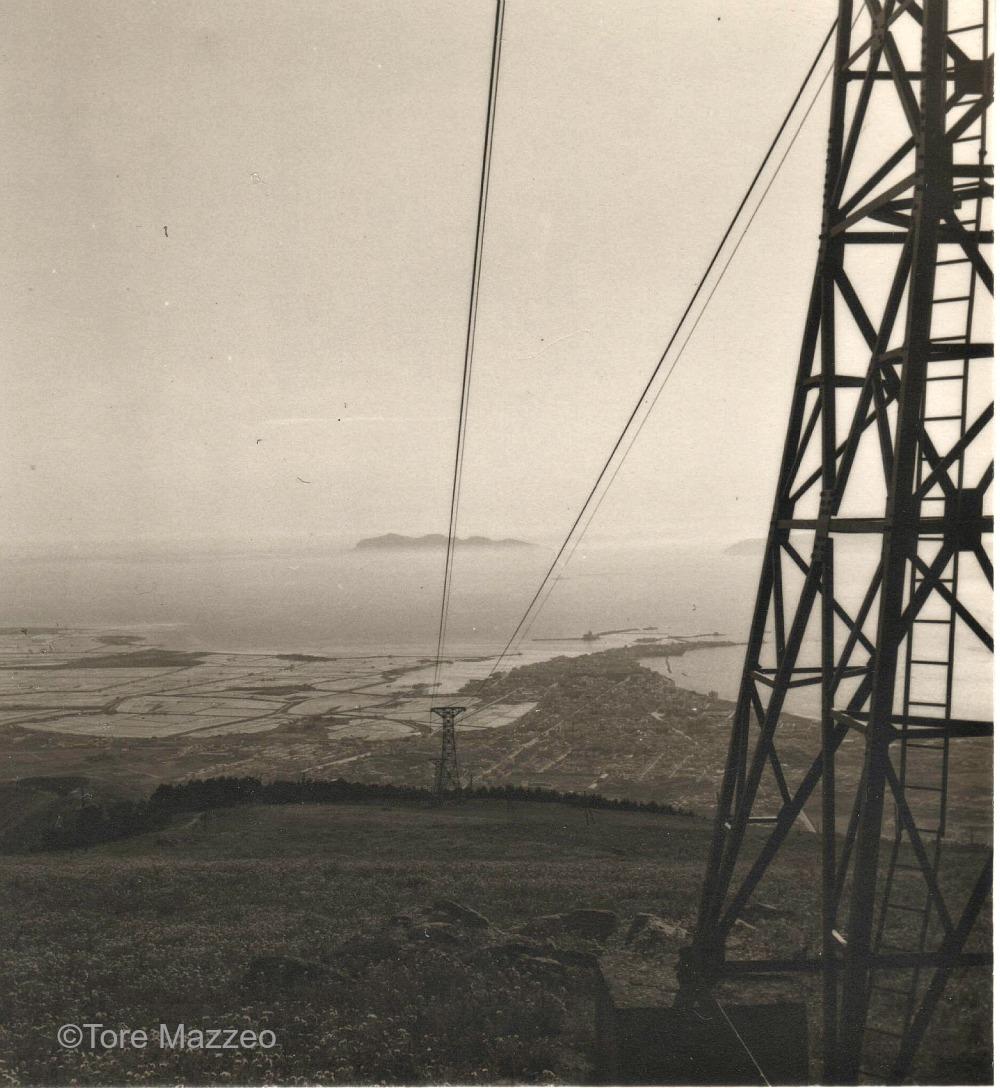 6 Trapani panorama da Erice 1953