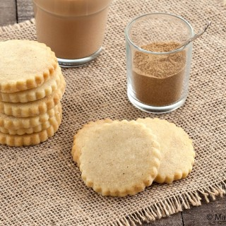 Chai Shortbread Cookies