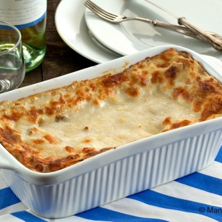 Porcini and Taleggio Lasagne