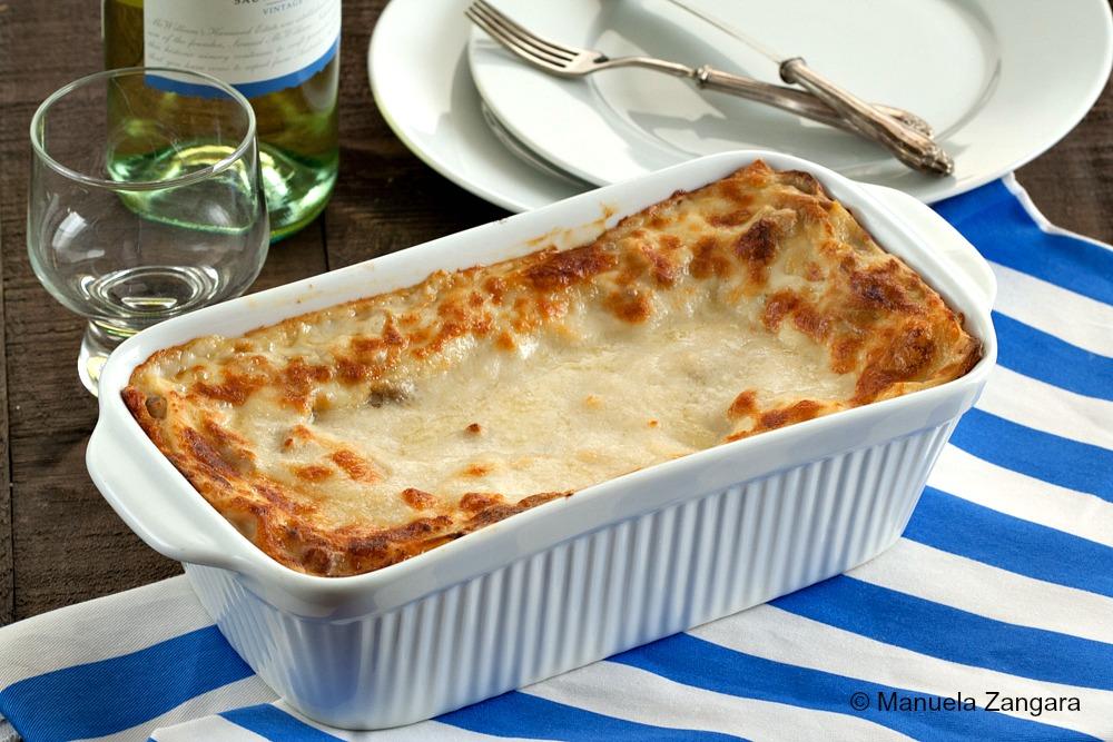 Porcini and Taleggio Lasagne