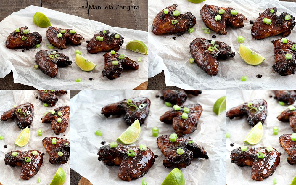 Sticky Chinese 5 Spice Wings