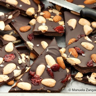 Almond and Cranberry Bark
