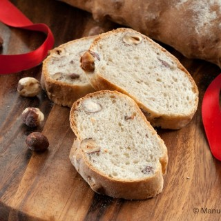 Spelt and Hazelnut Bread
