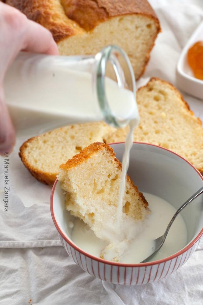 Yogurt Plumcake