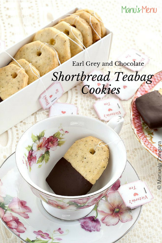 Earl Grey Shortbread Tea Bags s