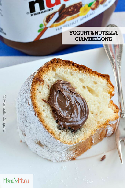 Yoguert and Nutella Ciambellone s