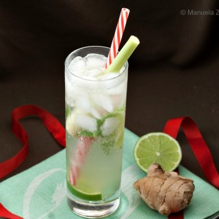 Lemongrass and Ginger Mojito