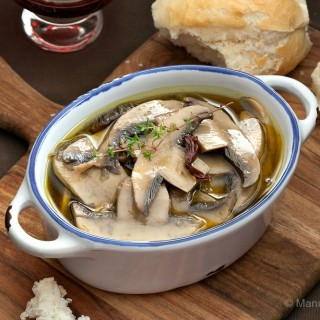 Mushrooms in Escabeche