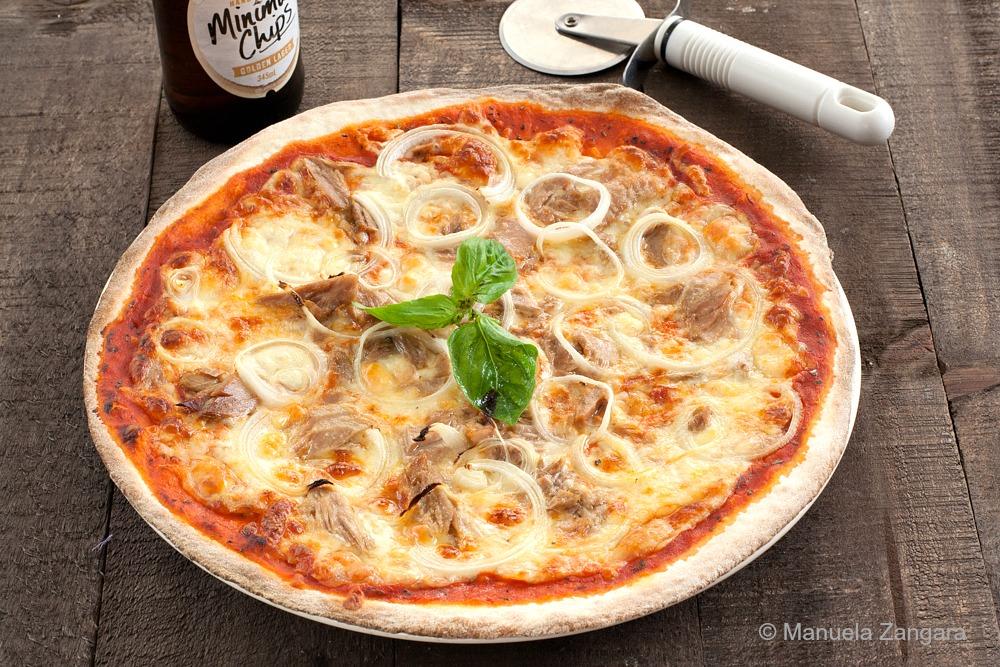 Tuna and Onion Pizza