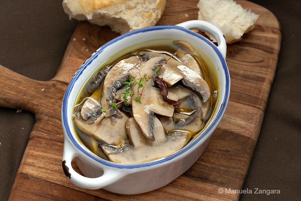 Mushrooms in Escabeche