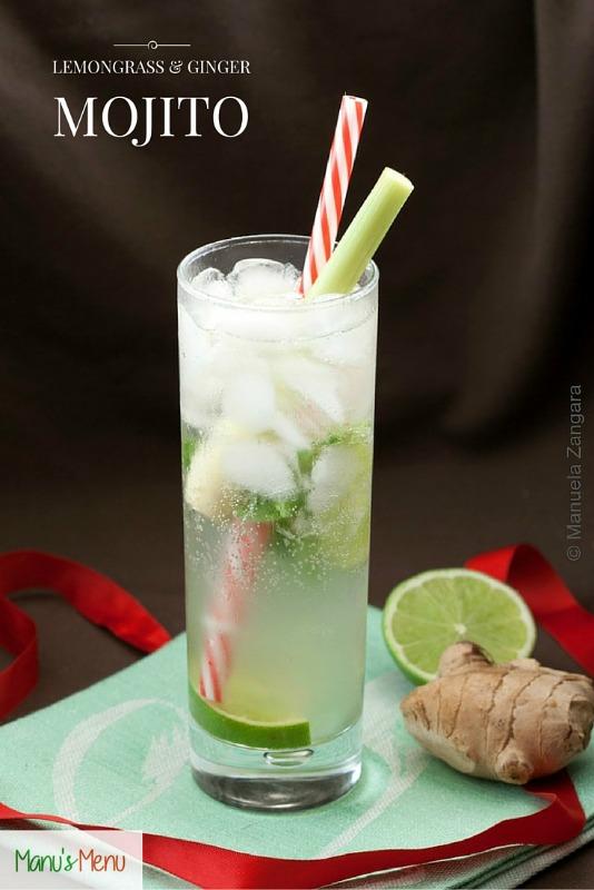 Lemongrass and Ginger Mojito