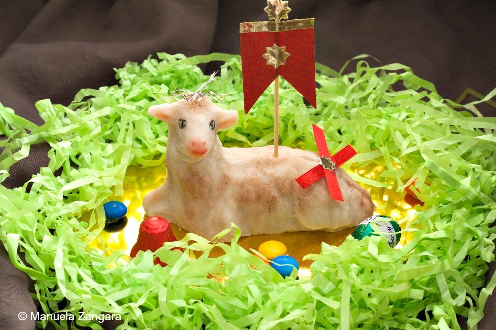 Marzipan Lambs