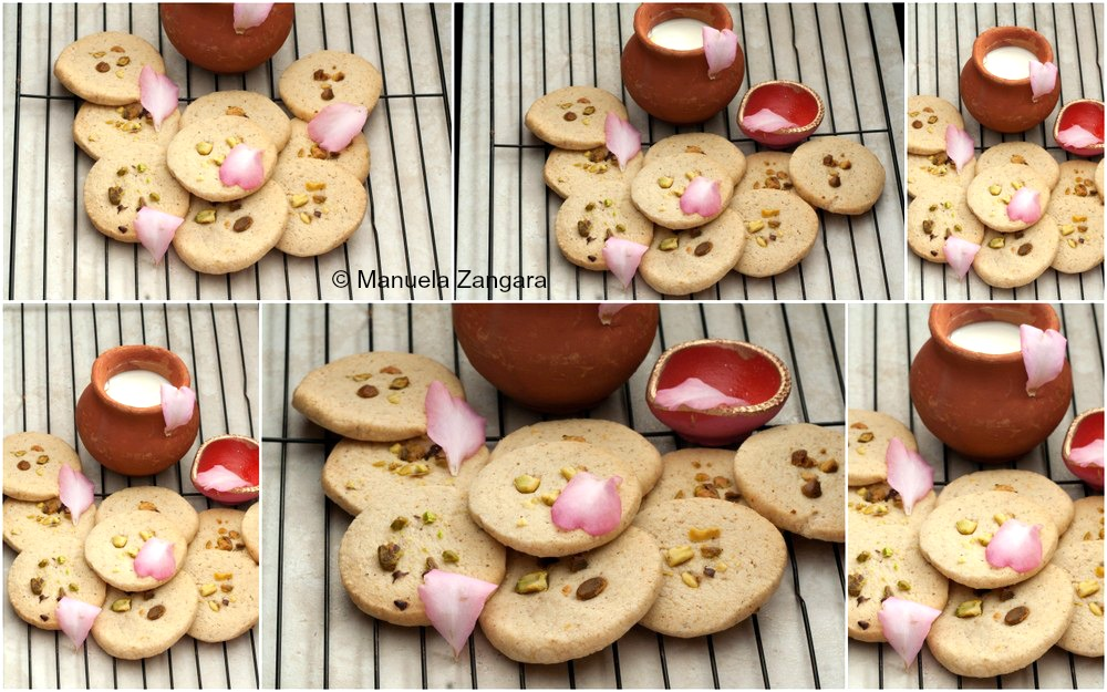 Eggless Thandai Cookies
