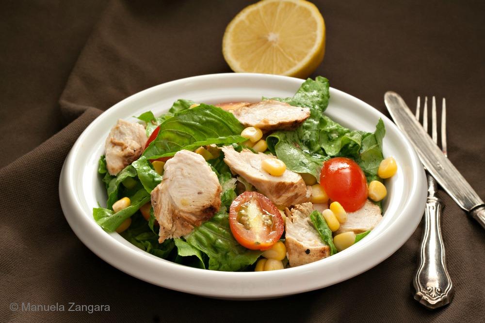 Mediterranean Grilled Chicken Salad