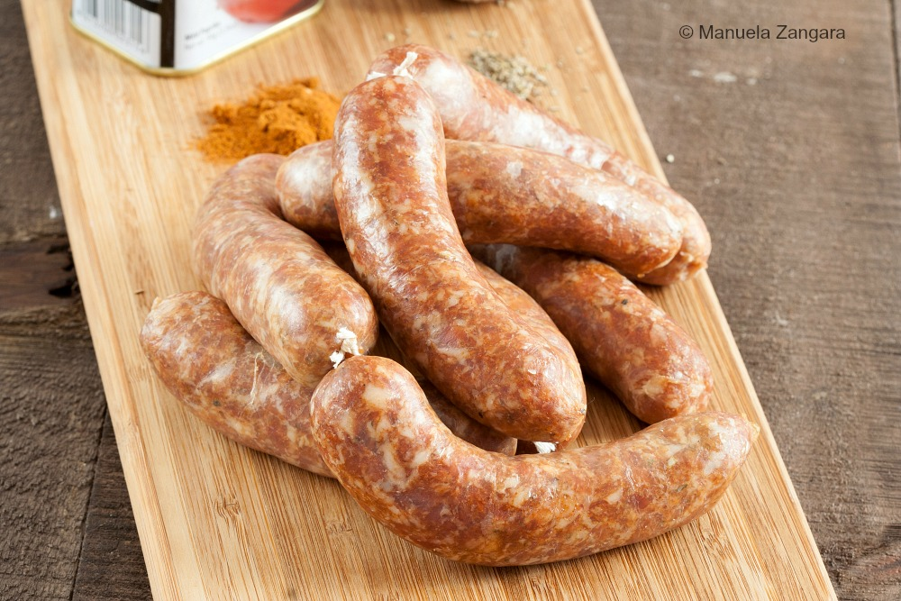 Home-made Spanish Chorizo