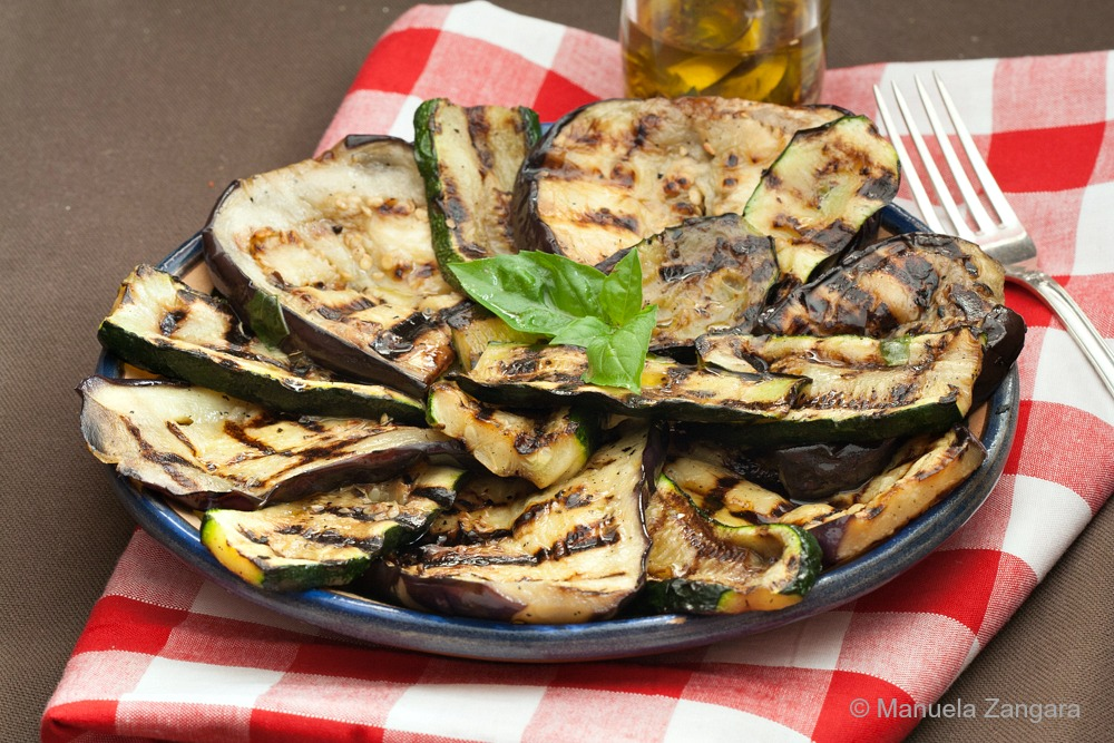 Italian Grilled Vegetables