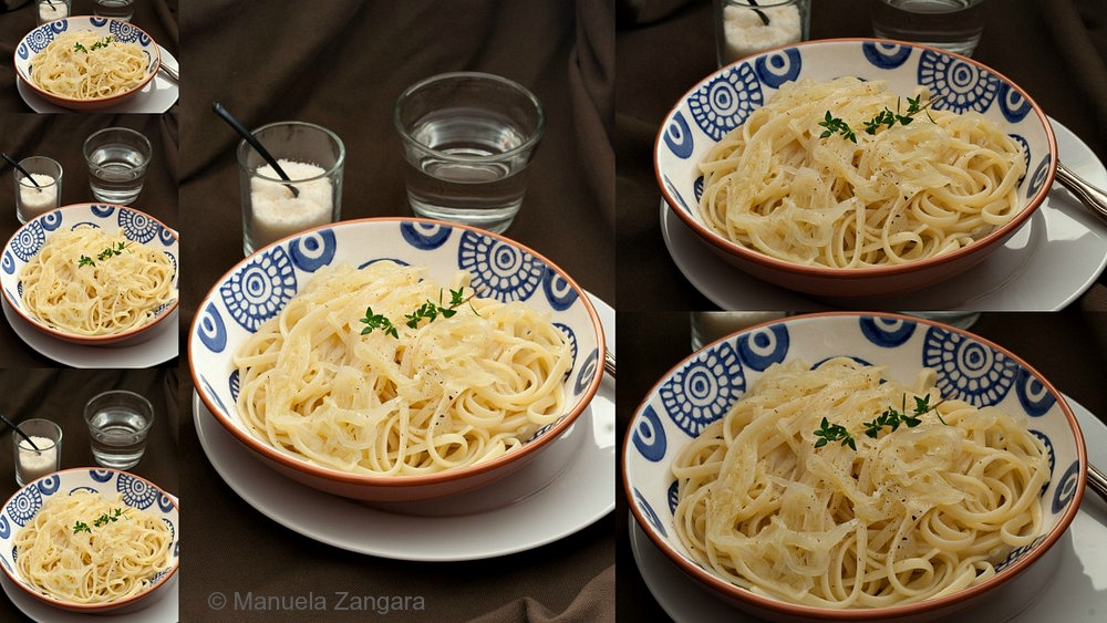 Pasta with Braised Onions