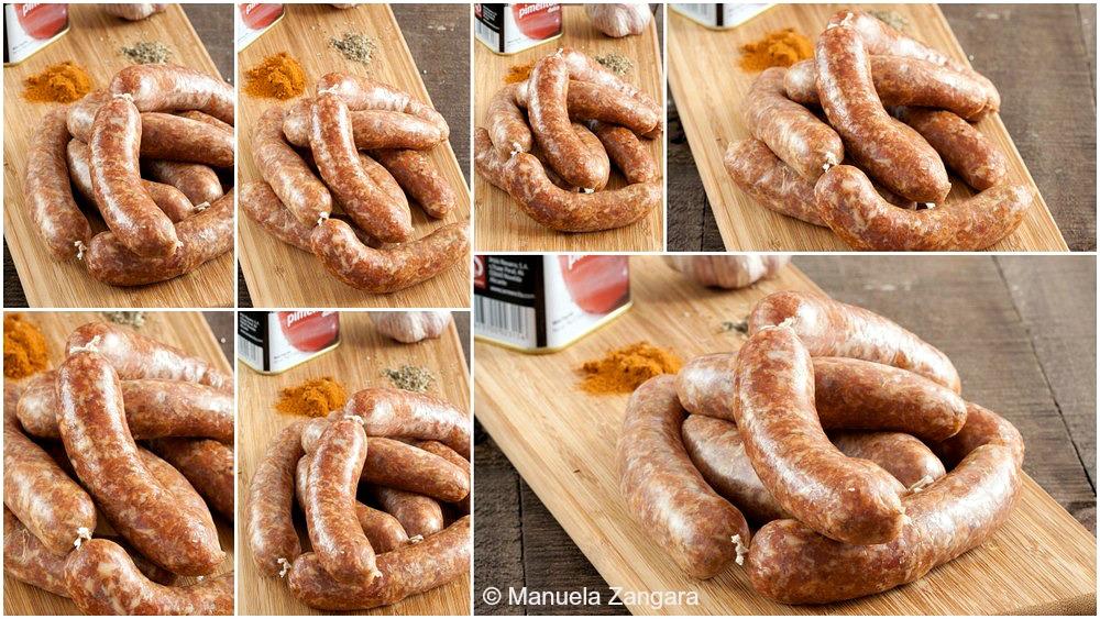 Home-made Spanish Chorizo