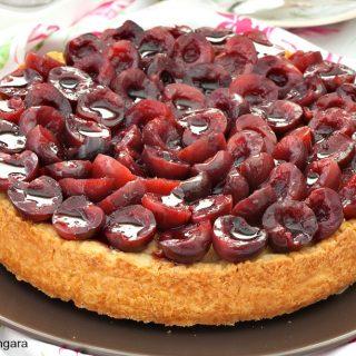 Cherry Frangipane Cake
