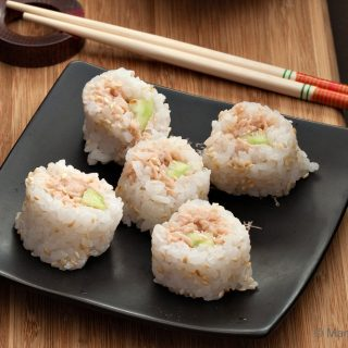 Skinny Tuna Sushi Roll