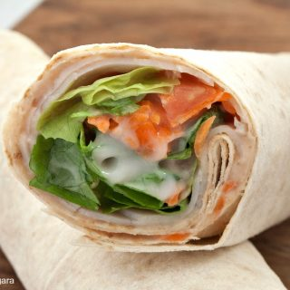 Chicken Tonnato Wrap