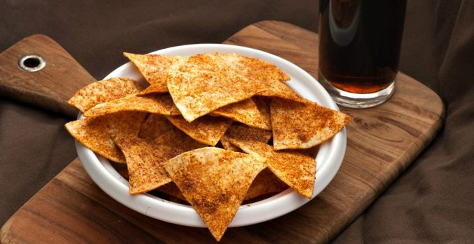 Home-made Doritos