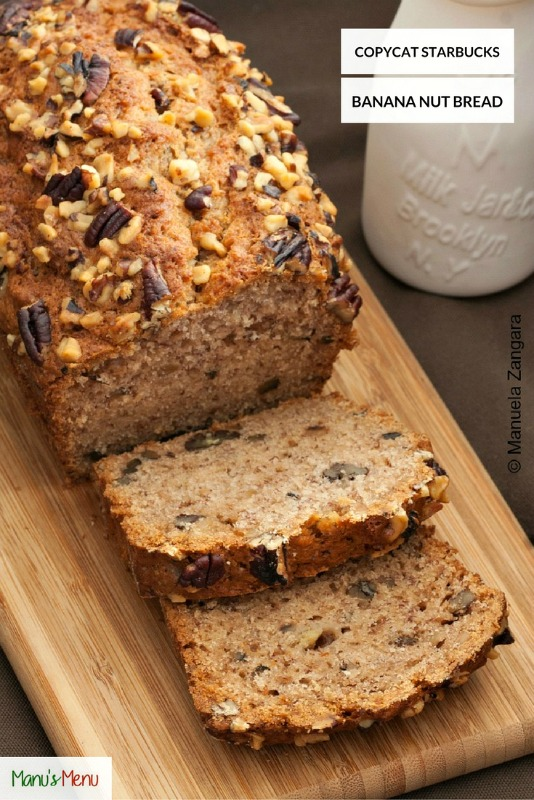 Copycat Starbucks Banana Nut Bread