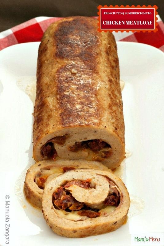 Prosciutto Sun-dried Tomato Chicken Meatloaf