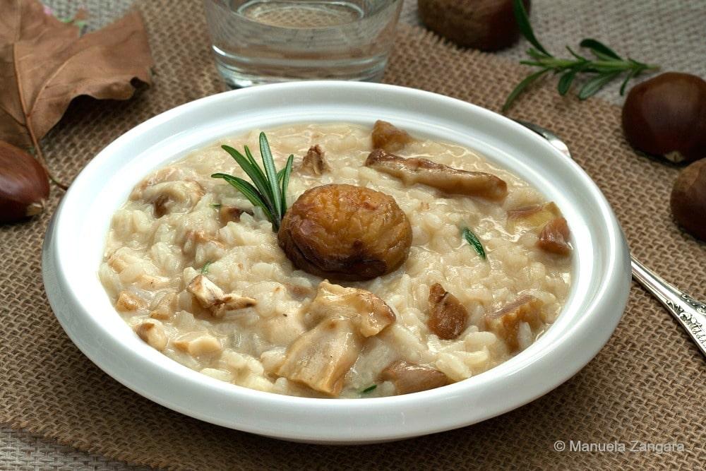 Chestnut Porcini Risotto
