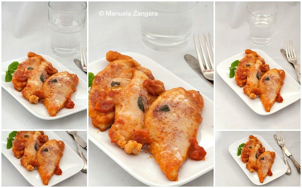 Parmigiano Reggiano Tomato Chicken