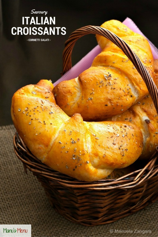 Savoury Italian Croissants