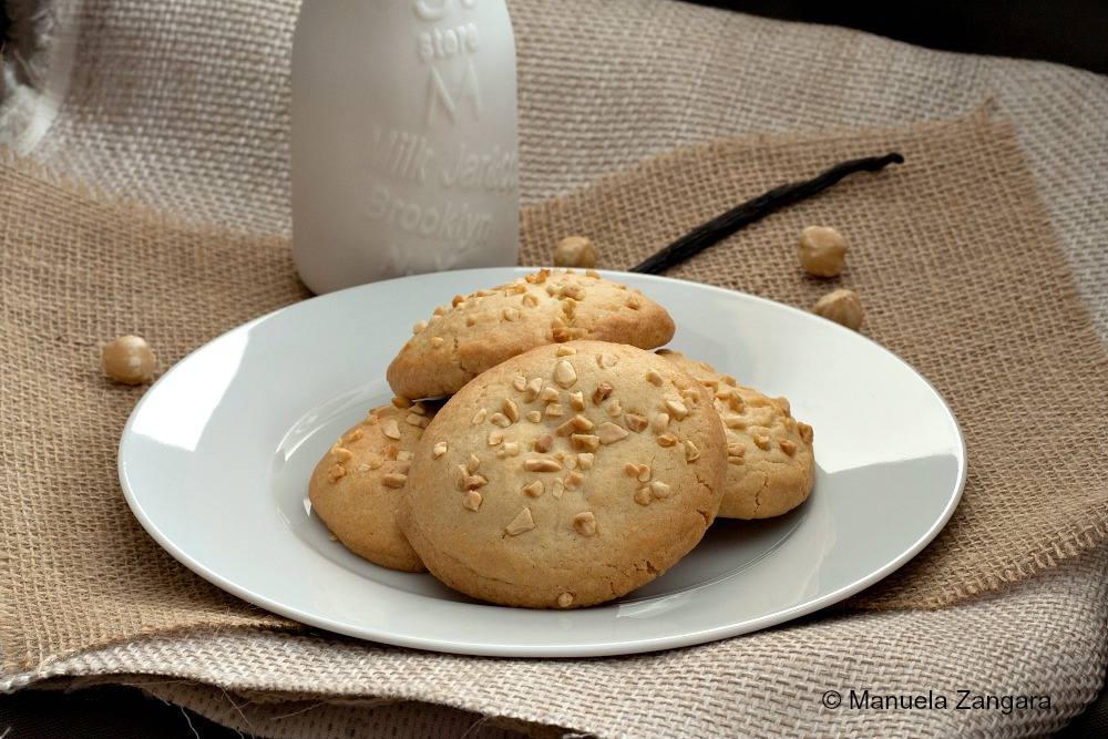 White Chocolate Hazelnut Cookies