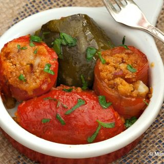 Sicilian Bell Pepper Involtini
