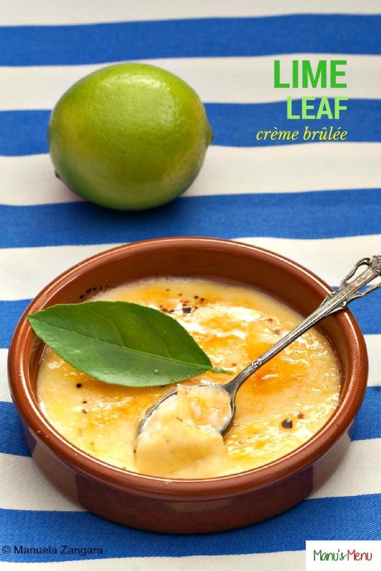 Lime Leaf Crème Brûlée