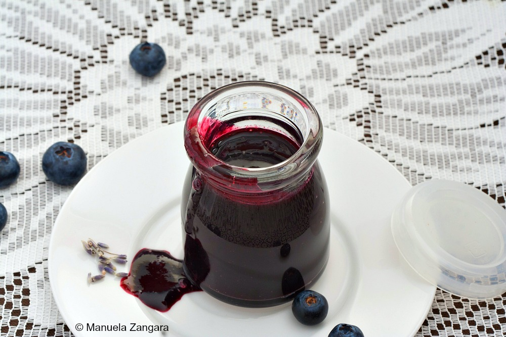 Blueberry Lavender Syrup