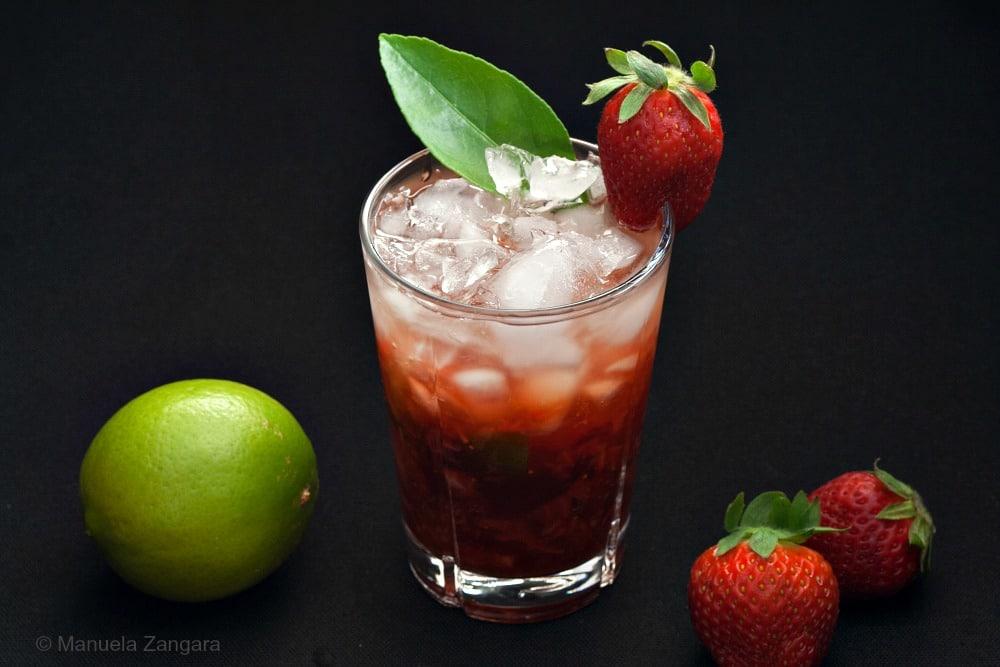 Strawberry Caipiroska